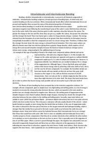 Preview of In depth bonding essay edexcel 2008 chemistry