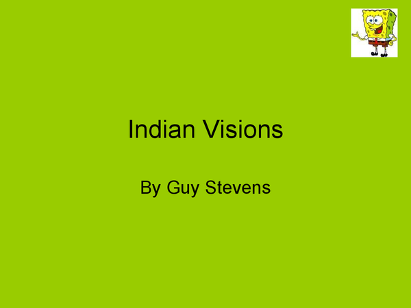 Preview of Indian Visions