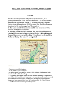 Preview of Indus River Flood (Pakistan) Case Study