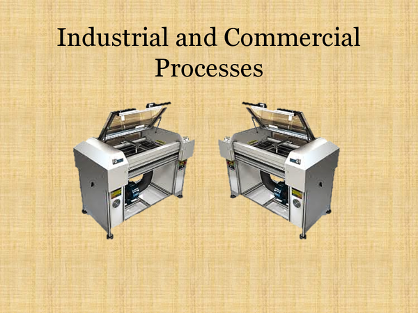Preview of Industrial & Commercial Processes