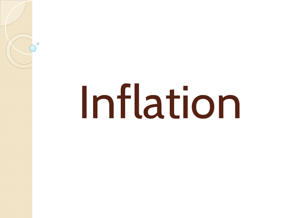 Preview of Inflation and deflation powerpoint AS Level