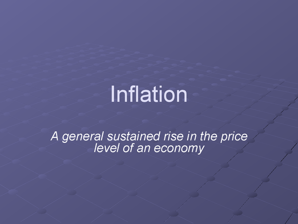 Preview of Inflation - Powerpoint