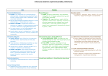 Preview of Influences of childhood experiences on adult relationships