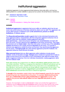 agression essay