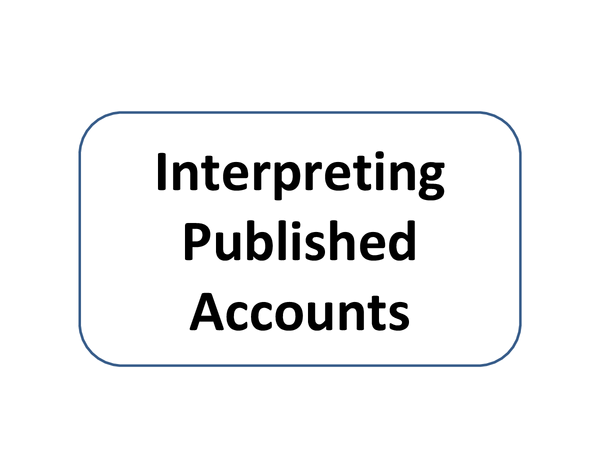 Preview of INTERPRETING PUBLISHED ACCOUNTS