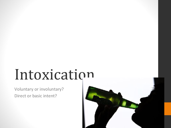 Preview of Intoxication