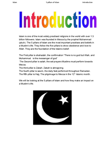Preview of introduction to the five pillars of islam