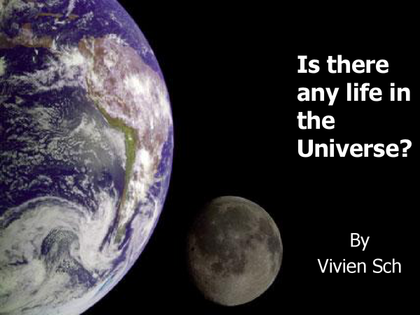 Preview of Is there Life in this Universe? (GCSE Physics/Astronomy)