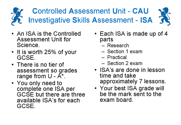 Preview of ISA Questions and Answers