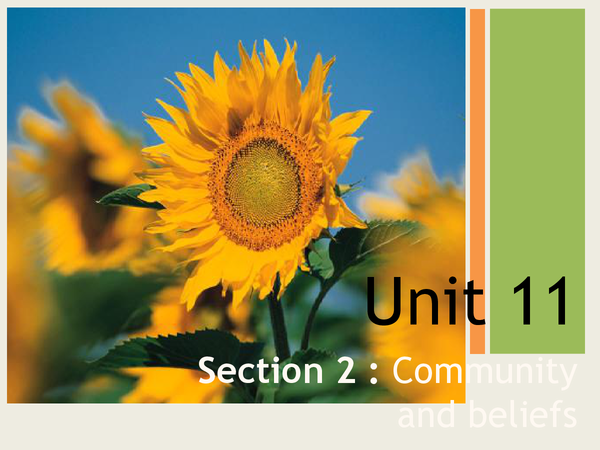 Preview of Islamic Unit 11 Section 2