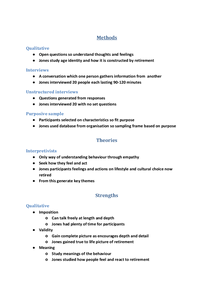 Preview of Jan 13 prerelease notes Jones Sociology