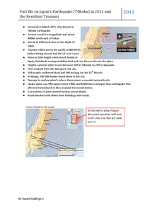 Preview of Japan Earthquake Case Study