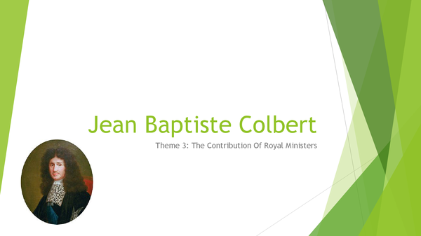 Preview of Jean Baptiste Colbert