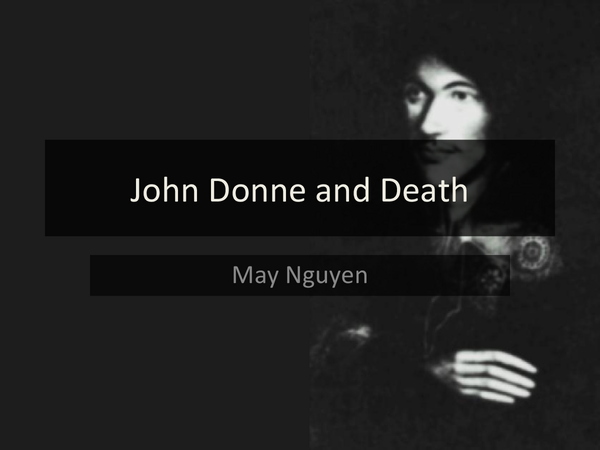 Preview of John Donne and Death