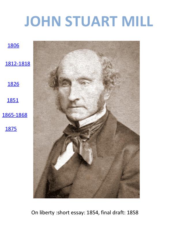 Preview of John Stuart Mill Timeline
