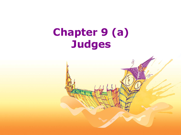 Preview of Judges
