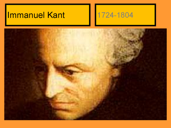 Preview of Kantian Ethics recap
