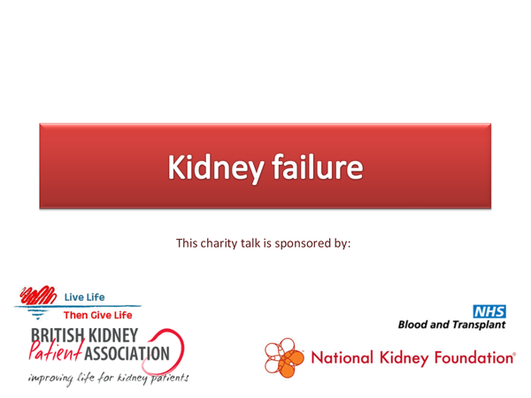 Preview of Kidney Failure treatment