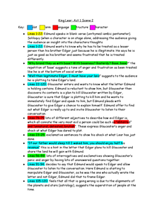 Preview of king lear act 1 scene 2 notes