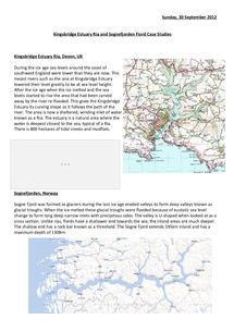 Preview of Kingsbridge Estuary Case Study
