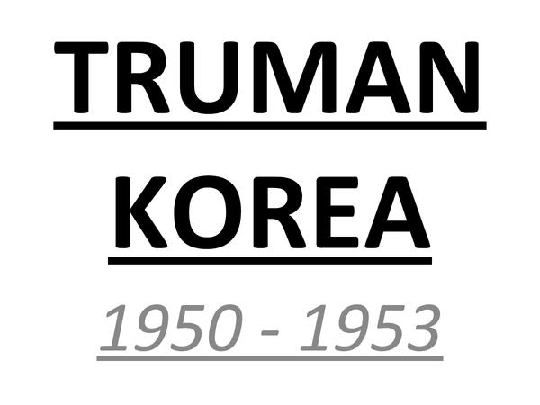 Preview of KOREAN WAR (1950-1953)