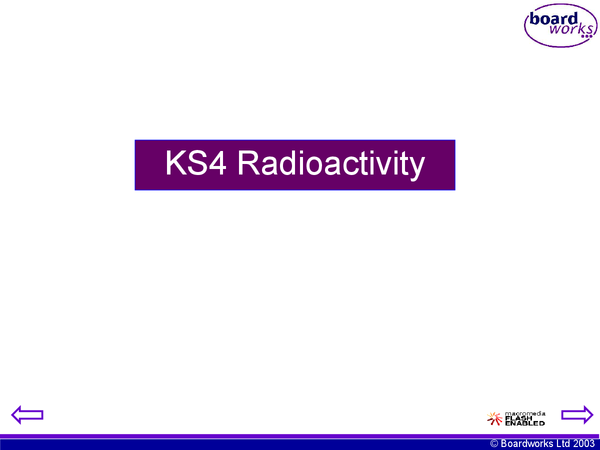 Preview of Ks4 Radioactivity
