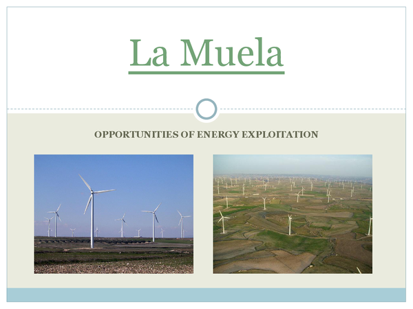Preview of La Muela Energy Opportunities Case Study
