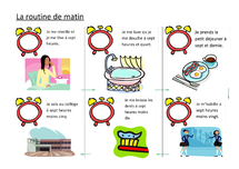 Preview of 'La routine du matin' poster