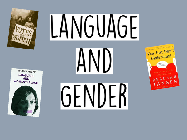 Preview of Language and Gender Full Notes