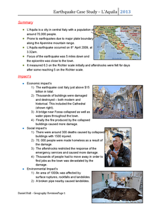 Preview of L'Aquila Case Study