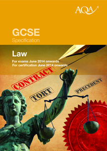 Preview of Law GCSE specification