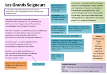 Preview of Les Grands Seigneurs