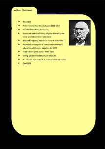 Preview of Liberalism Key Profile: William Gladstone