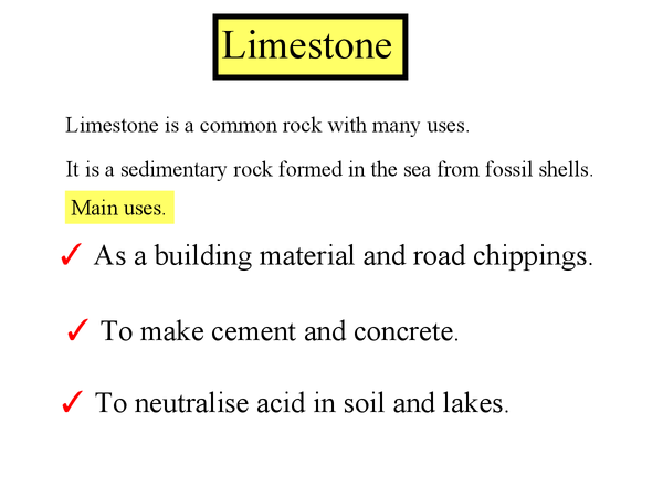 Preview of Limestone