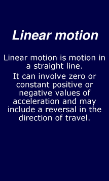 Preview of Linear Motion Equations - smart phone physics