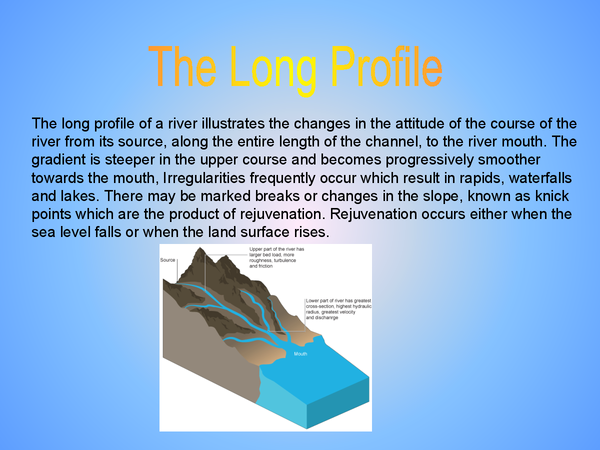 Preview of Long Profile Summary