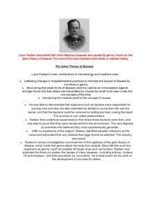 Preview of Louis Pasteur