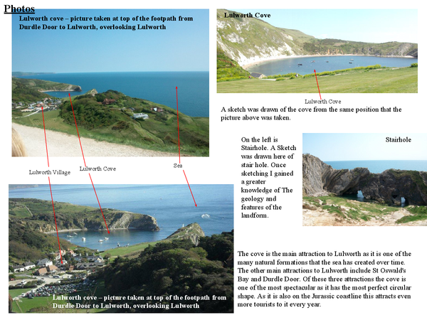 Preview of Lulworth pictures analysed