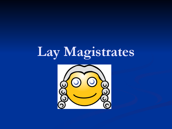 Preview of magistrates