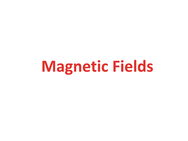 Preview of Magnetic Fields and electromagnetic induction (Unit 2 Module 1 A2 OCR)