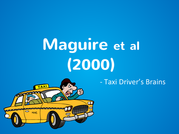 Preview of Maguire- Taxi driver's Brains