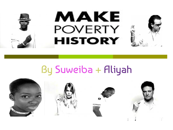 Preview of Make poverty history