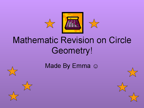 Preview of Make Revision Fun - MATHS CIRCLE THEOREMS!! :D