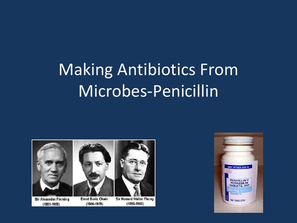 Preview of Making Antibiotics from Microbes-Penicillin