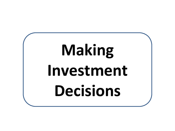 Preview of MAKING INVESTMENT DECISIONS
