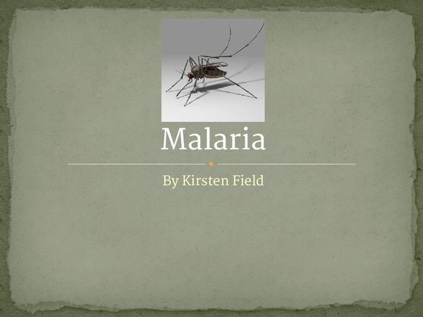 Preview of Malaria