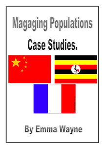 Preview of Managing Population Case Studies-China, Uganda, France