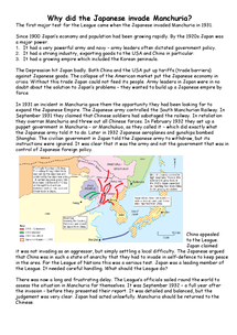 Preview of Manchurian Crisis