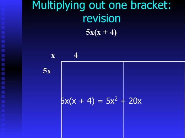 Preview of Manipulating Quadratics