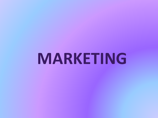 Preview of Marketing Overview! Great resource!